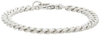Hatton Labs Silver HL Classic Cuban Bracelet