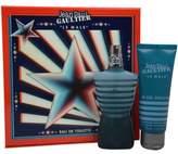 Jean Paul Gaultier Le Male Gift Set for Men (Eau De Toilette Spray and All-Ov...