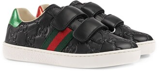 Gucci Kids Children's Gucci Signature sneaker with Web
