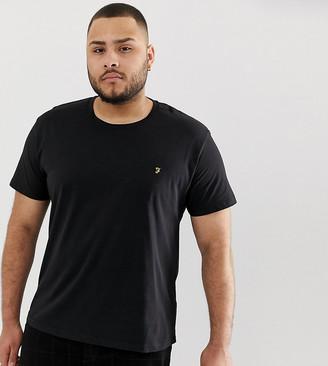 Farah Farris Slim Fit T-Shirt in Black