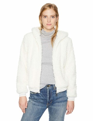 Madden-Girl Women's Faux Fur Fashion Jacket