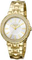 Ferré Milano Women's FM1L058M0071 Dial with Gold Plated Band Watch.
