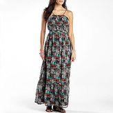 JCPenney a.n.a® Halter Maxi Dress-Petite