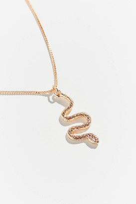 Mini Snake Pendant Necklace