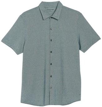 Zachary Prell Short Sleeve Button Front Shirt