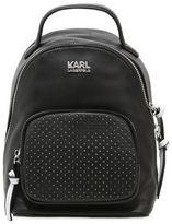 Karl Lagerfeld Super Mini Leather Backpack