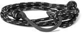 Miansai Hook Cord PVD-Plated Wrap Bracelet