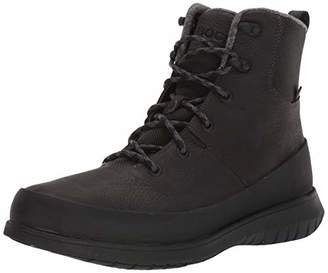 Bogs Men's Freedom Lace Tall Waterproof Insulated Winter Snow Boot