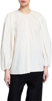 Christian Wijnants Tawil Voluminous Long-Sleeve Shirt