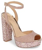 Badgley Mischka Women's Luke Platform Sandal