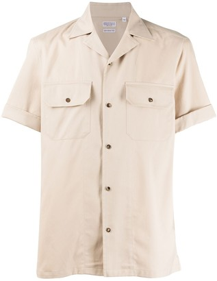 Brunello Cucinelli Double Pocket Turn-Up Cuff Shirt