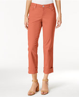 Style&Co. Style & Co Petite Curvy-Fit Capri Jeans, Created for Macy's