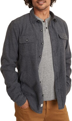 Marine Layer Camping Lined Button-Up Shirt