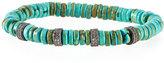 Tai Green Turquoise Rondelle Bracelet