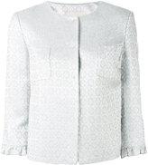 L'Autre Chose floral motif jacket - women - Viscose/Acetate/Polyamide - 38