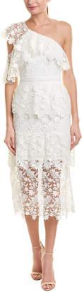 Joie Belisa Lace Midi Dress