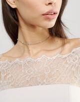 Asos WEDDING Pearl & Crystal Choker