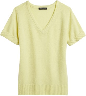 Banana Republic Cashmere Short-Sleeve Sweater