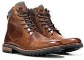 Crevo Men's Methuselah Memory Foam Cap Toe Lace Up Boot
