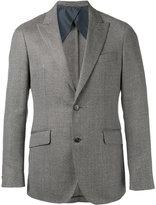 Hackett woven blazer - men - Cotton/viscose/Wool/Linen/Flax - 48