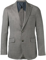 Hackett woven blazer - men - Silk/Cotton/Linen/Flax/viscose - 48