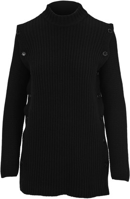 Marni Ribbed Button Detail Sweater