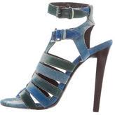 Balenciaga Watercolor Cage Sandals