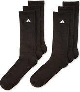 adidas Men's Athletic Performance Crew Socks 6-Pack