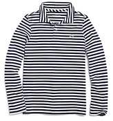 Vineyard Vines Boys' Long-Sleeve Striped Jersey Polo - Little Kid, Big Kid