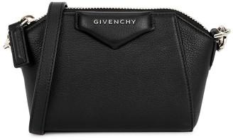 Givenchy Antigona nano taupe leather cross-body bag
