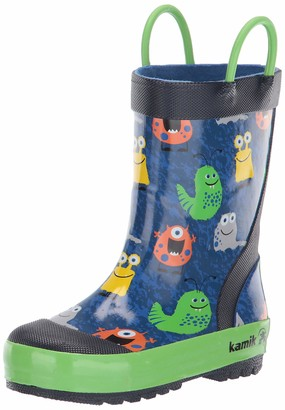 Kamik Boy's Monsters Rain Boot