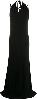 DSQUARED2 Backless Halterneck Maxi Dress