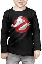 GMINLTTK Little Boys Girls Ghostbusters Logo Long Sleeve T Shirt