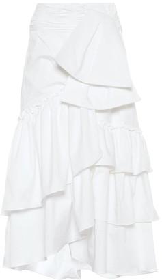 Johanna Ortiz Roswell cotton poplin skirt
