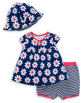 Offspring Baby's Dress, Pants and Bucket Hat Set