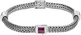 John Hardy Classic Chain Bracelet with Indian Ruby