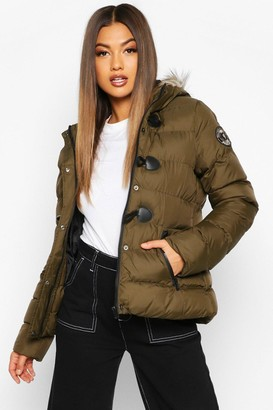 boohoo Short Quilted Puffer Jacket