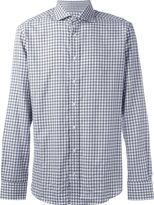 Hackett checked button down shirt