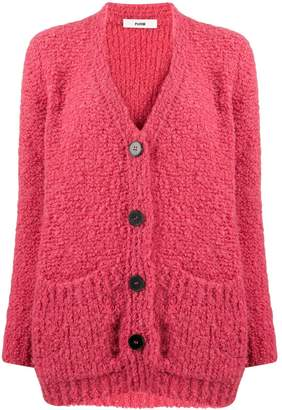 Roberto Collina loose-fit V-neck cardigan