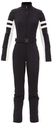 Bogner Cat Belted Soft-shell Ski Suit - Black