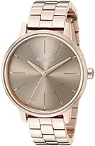 Nixon Women's A0992214-00 Kensington Analog Display Japanese Quartz Rose Gold Watch