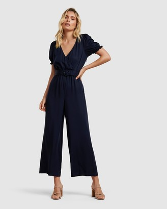 Forever New Margot Puff Sleeve Jumpsuit