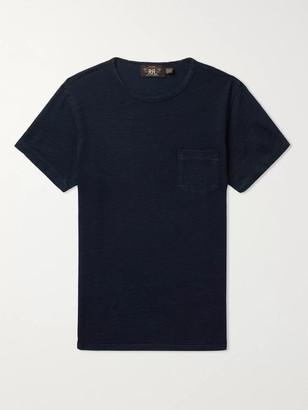 Ralph Lauren RRL Indigo-Dyed Slub Cotton-Jersey T-Shirt