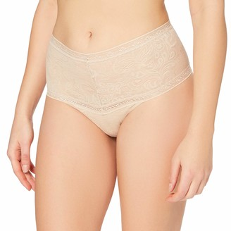 Maidenform Womens Tummy Smoothing Lace Thong Panties