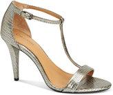 Calvin Klein Women's Nasi T-Strap Dress Sandals