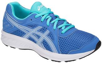 Asics Running Shoes BLUE - Blue Coast & White Jolt 2 GS Running Shoe - Kids
