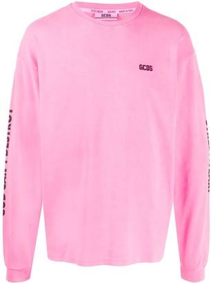 GCDS Destroy crew-neck sweatshirt