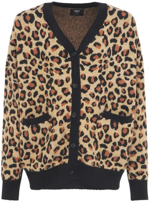 Other Leopard Knit Cardigan