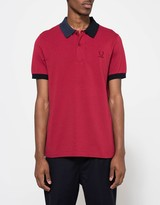 Fred Perry Split Collar Pique Shirt