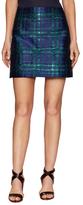 Manoush Cotton Brocade A-Line Skirt